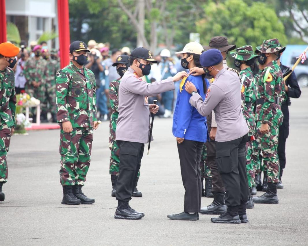 Didampingi Kapolri, Panglima TNI Membuka Latsitarda Nusantara Ke-41