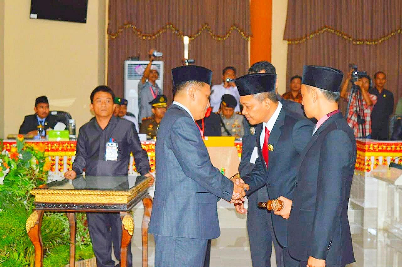 (Adv) Sidang Paripurna Istimewa Pengambilan Sumpah Janji 45  Anggota Dewan Perwakilan Rakyat Daerah Kabupaten Tanggamus Periode 2019-2024