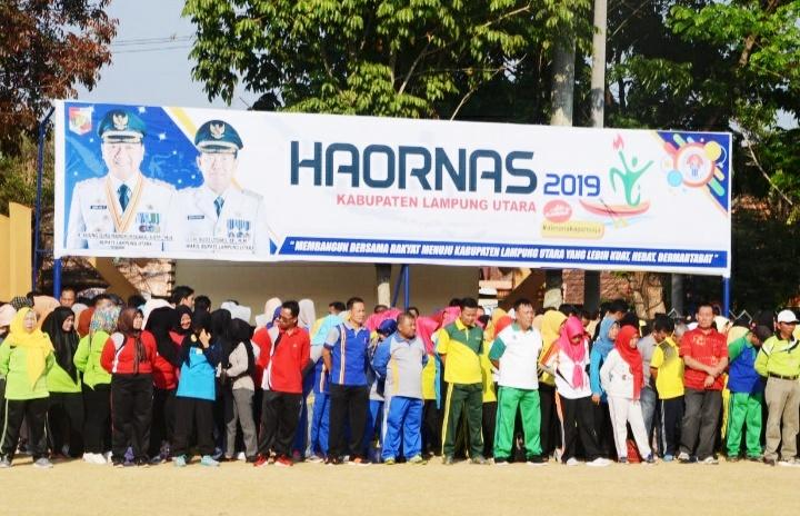 Lampung Utara Gelar Haornas ke XXXVI