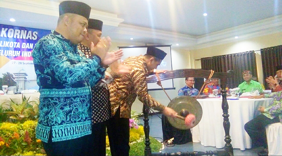 Wakil Gubernur Jawa Tengah Taj Yasin Buka Rakornas Forwakada