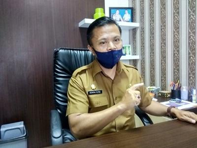 Pasar Rakyat Tengku Kasim Kurang Diminati Pedagang, Hendra Putra Kabid Pasar Sebut Ada Persoalan