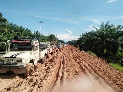 Arif Setiawan Kabid BM PUPR Riau: Penambahan 50 Hari Kerja Pembangunan Jalan Dumai - Lubuk Gaung - Sinaboi Sesuai Perpres 16/2018