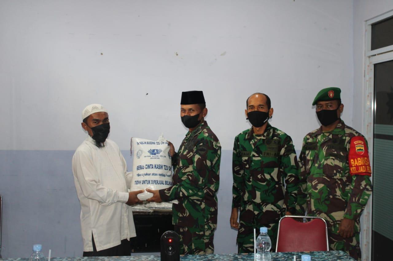 Mempererat Silahturahmi, Dandim 0301/PBR Kunjungi Panti Asuhan Muhammadiyah