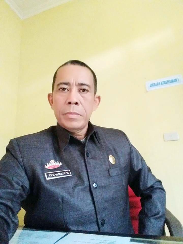 Rilman Muchyin Lurah Panagaran Jaya, Ajak Masyarakat Menjaga dan Mengawasi Pembangunan