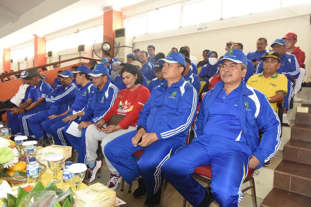 Danlanud RSN Dampingi Gubernur Riau, Hadiri Peringatan HAORNAS Ke XXXVI