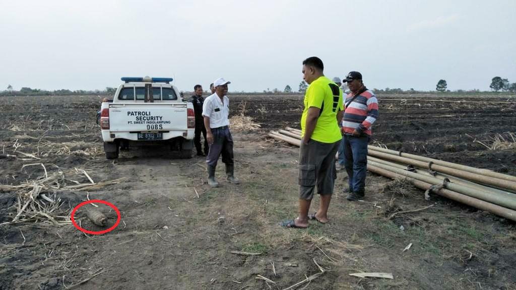 Kapolsek Menggala: Berikut Kronologis Penemuan Bom Peninggalan Zaman Penjajahan
