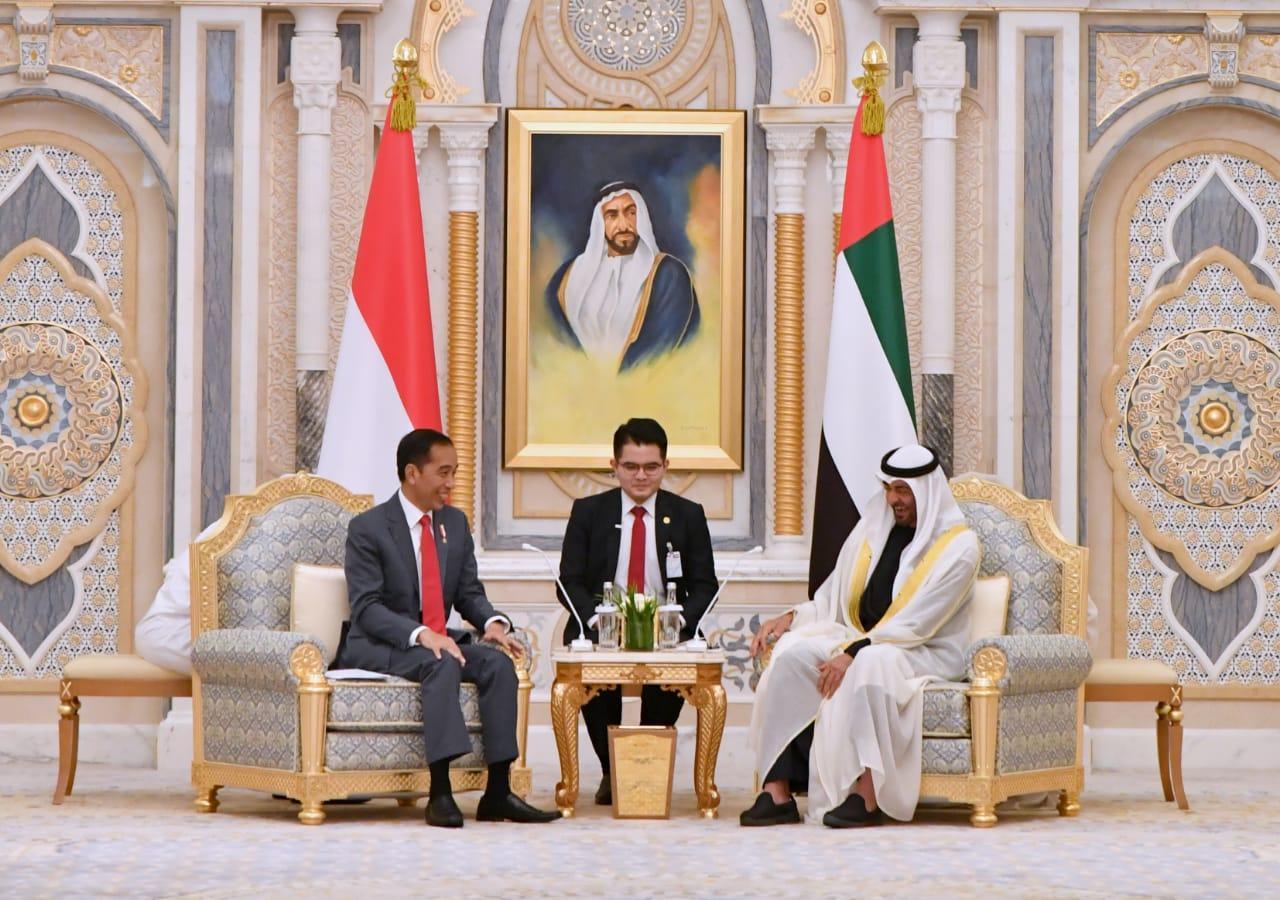 Presiden Jokowi dan Putra Mahkota Abu Dhabi Sepakat Tingkatkan Kerja Sama Ekonomi dan Pendidikan Keislaman