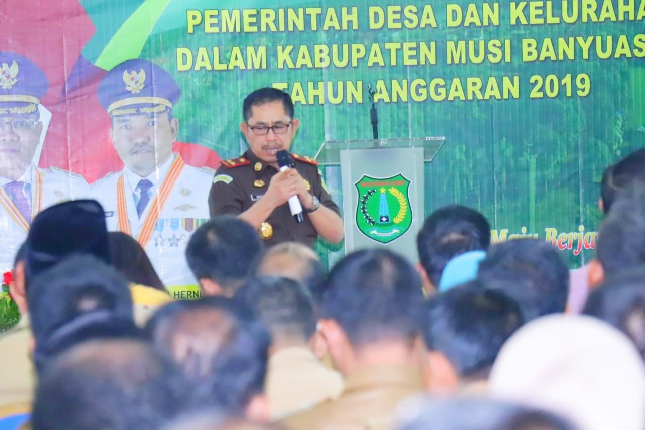 Pemkab Muba Komitmen, Kawal Dana Desa dan Dana Kelurahan