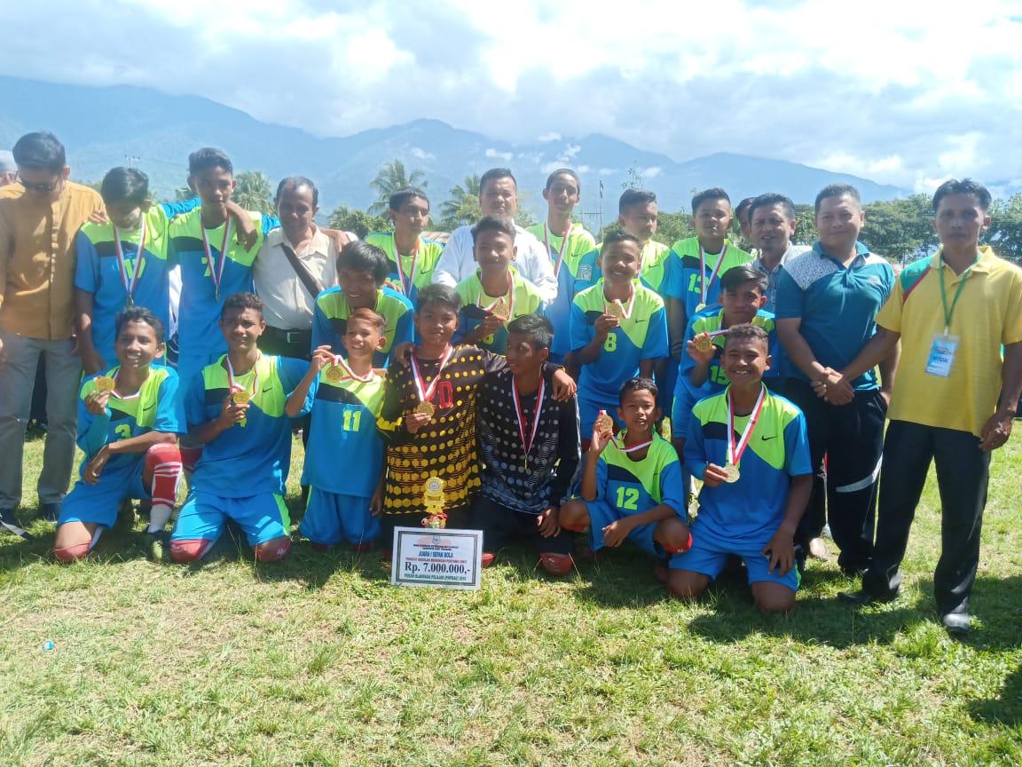 SMPN 1 Badar Pertahankan Gelar Juara Popkab Aceh Tenggara