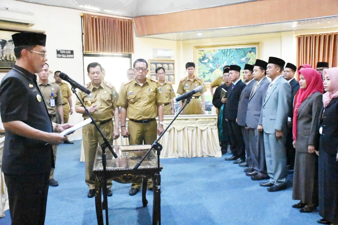 Bupati Lampung Timur Lantik 55 Pejabat Administrator