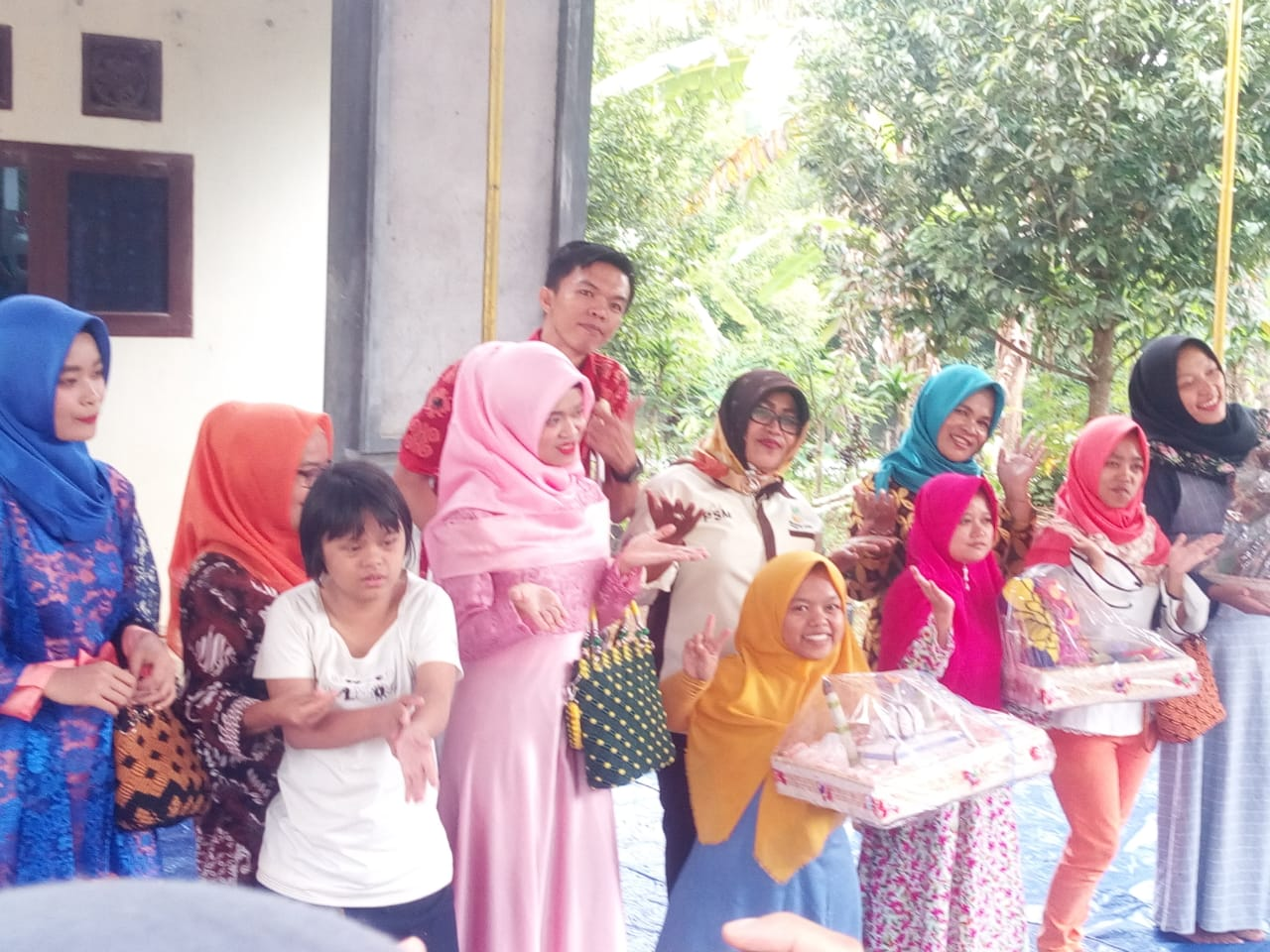 Kementerian Sosial, Bantu 73 Warga Penyandang Disabilitas Binaan LKS Alamanda Tanggamus