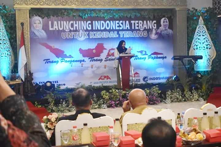 Launching Indonesia Terang, 5000 Titik PJU Tenaga Surya Akan Terangi 266 Desa di Kendal