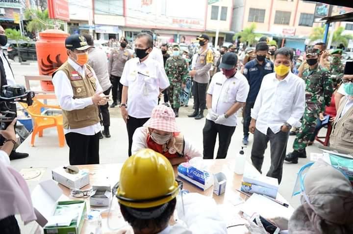 Gubri Lakukan Kunjungan Ke Kota Dumai Untuk Melakukan Peninjauan Terkait Pelaksanaan PSBB