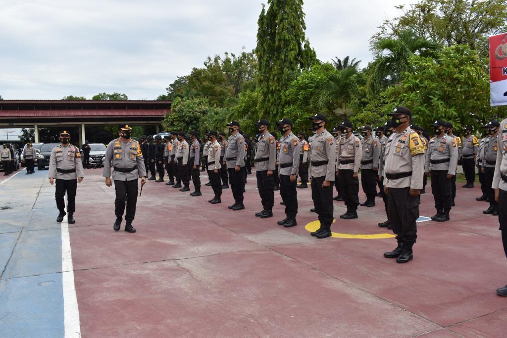 Polda Riau Mempersiapkan Pengamanan Untuk Dukung Penyelenggaraan PSU Pada 26 TPS di Kabupaten Inhu dan Rohul