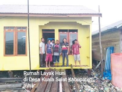 Rumah Layak Huni Program Gubri di Sambut Antusias Masyarakat, Jalal Kabid PP PUPR Riau: Masyarakat Sangat Terbantu