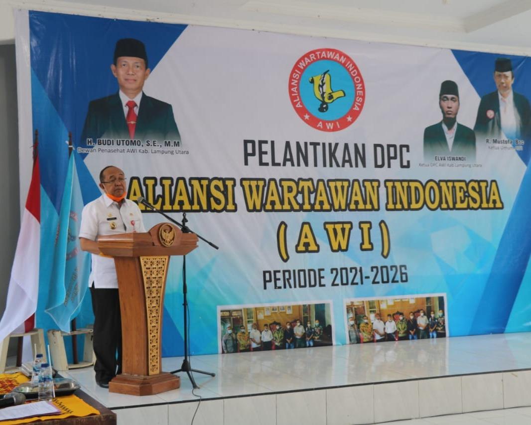Ketua MOI Ucapkan Selamat Dan Sukses Atas Dilantiknya Seluruh Pengurus DPC AWI Lampura