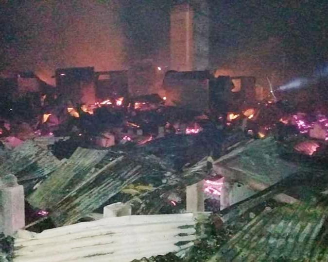 Si Jago Merah Mengamuk, 2 Orang Tewas, 13 Rumah di Bagansiapiapi Ludes Terbakar