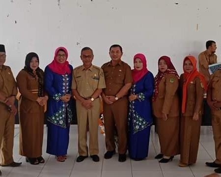 Sertijab Kepala Dinas Pendidikan dan Kebudayaan Dari H.M. Rusli Syarief, S.Sos Kepada H. Nur Hidayat, SH, MH
