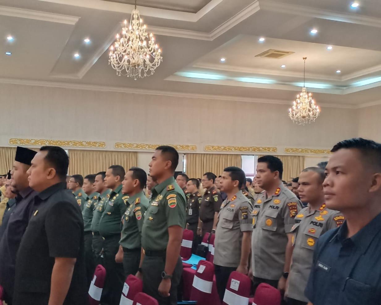 Dandim 0301/Pekanbaru Hadiri Acara Sosialisasi Percepatan Penyelesaian Kegiatan Tanah Obyek Reforma Agraria (TORA) di Provinsi Riau Tahun 2020 Menuju Pemerataan Ekonomi Riau Yang Berkeadilan