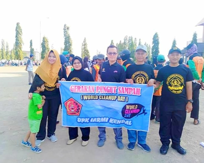 Word Cleanup Day, Sekda Kendal Ajak Masyarakat Bersih-besih