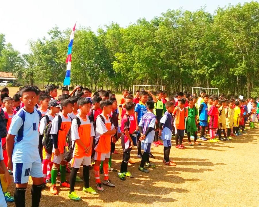 Sambut HUT Tiyuh Indraloka Jaya, Digelar Turnamen Sepak Bola U-12 dan U-10