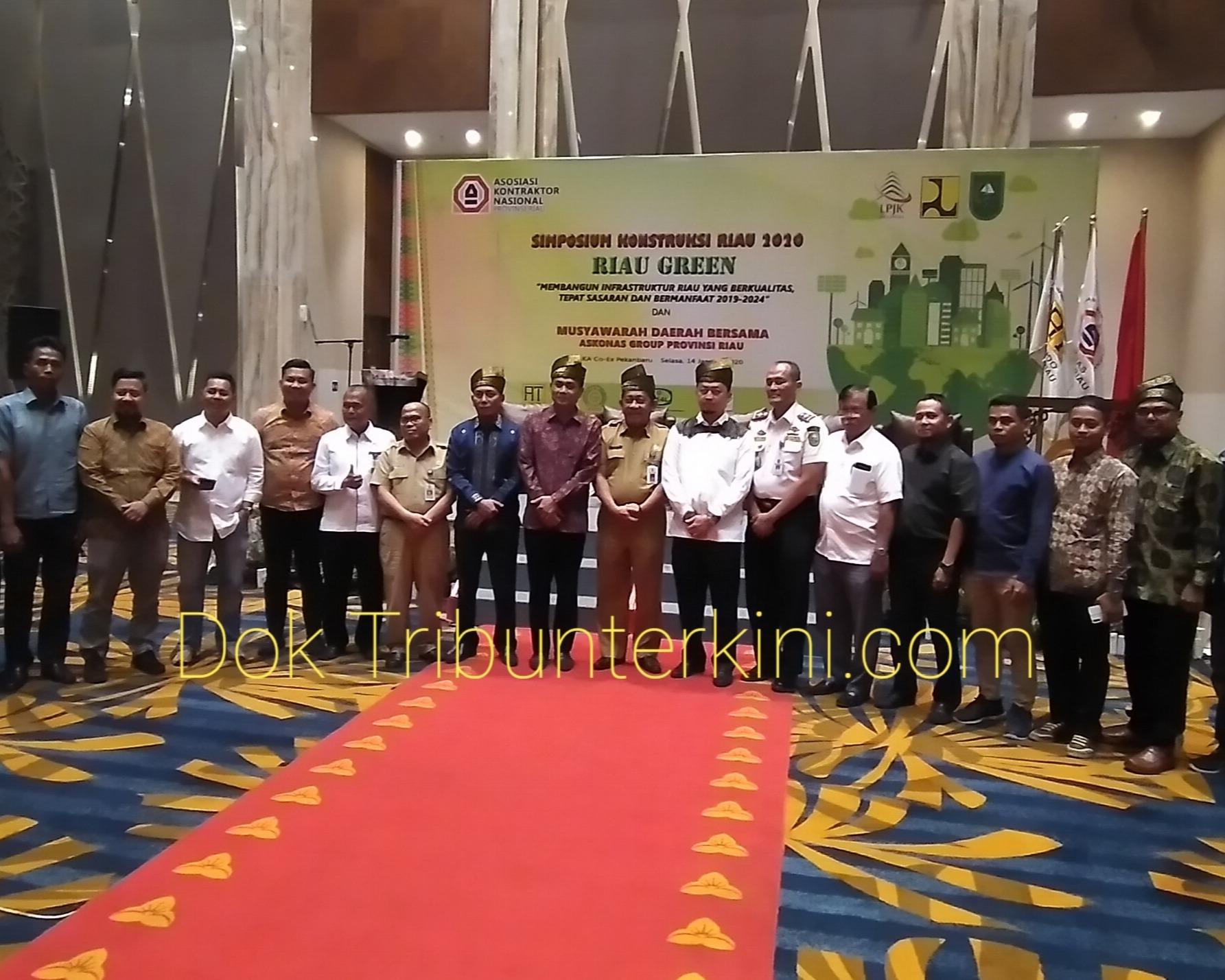 Askonas Provinsi Riau Laksanakan Simposium Konstruksi Riau 2020,