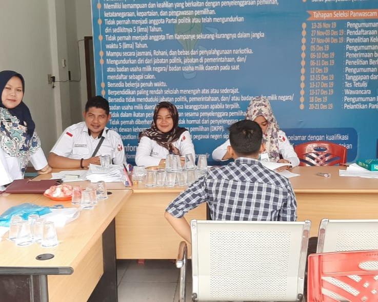 Lowongan Panwascam Resmi Dibuka di 9 Bawaslu Kabupaten/Kota, Sebanyak 149 Orang Mendaftar Di Hari Pertama