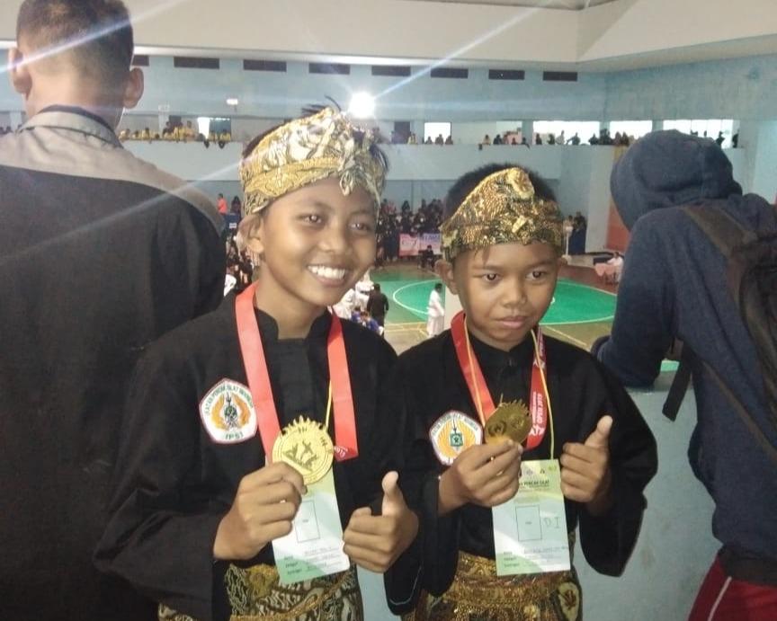 Hari Pertama Kontingen IPSI Tubaba Berhasil Babat Lima Emas dan Satu Perak