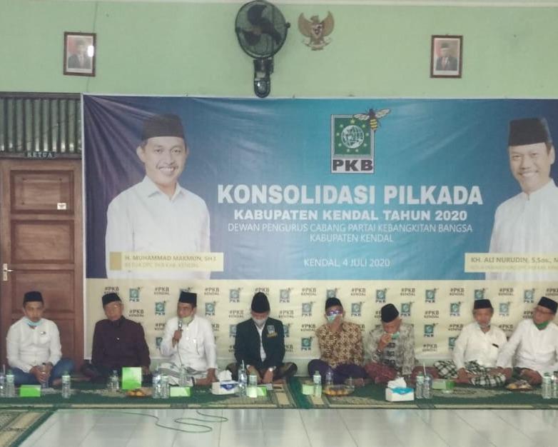 DPC PKB Kendal Deklarasikan Ustadz Ali Nurdin Cabup Kendal Pilkada 9 Desember 2020