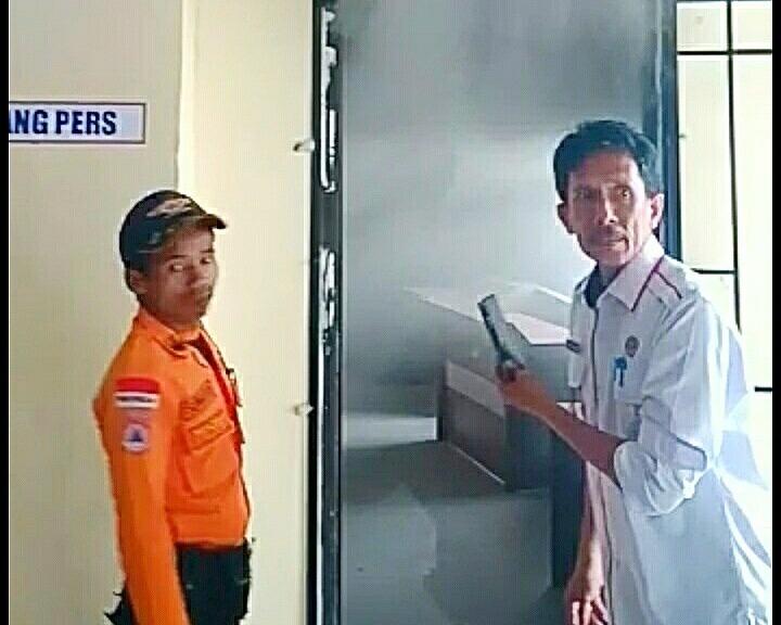 Breaking News Kantor DPRD Kabupaten Mesuji Nyaris Terbakar